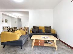 园岭新村 3楼精致装修 家私电器齐全 两房85平,拎包入住租房效果图