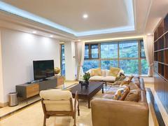 兰溪谷二期 南山脚下现代时尚4居室家私家电全齐照片实拍租房效果图